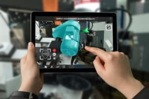 industry 4.0 augmented reality tablet