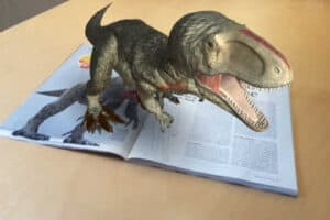 Magazine Publishing AR Dinosaur