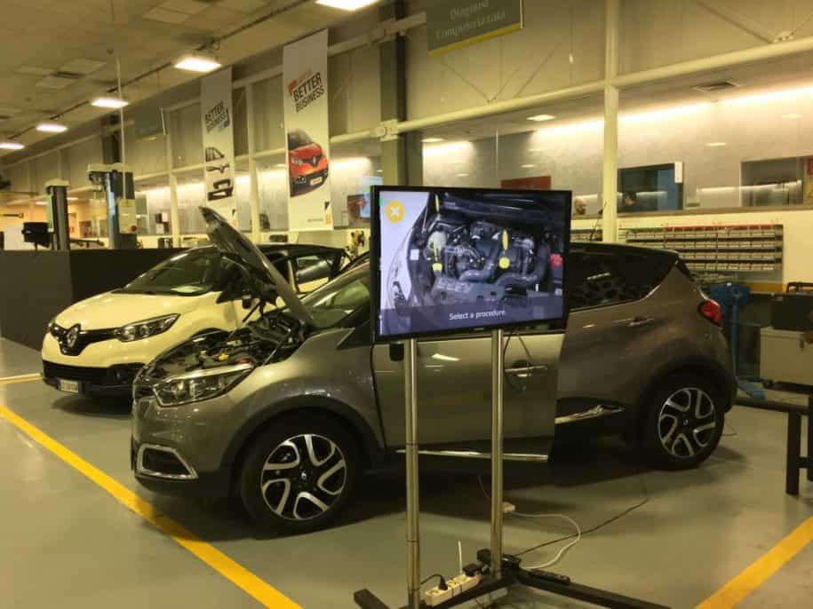 Renault Capture Augmented Reality at Renault Innovation Day 2015