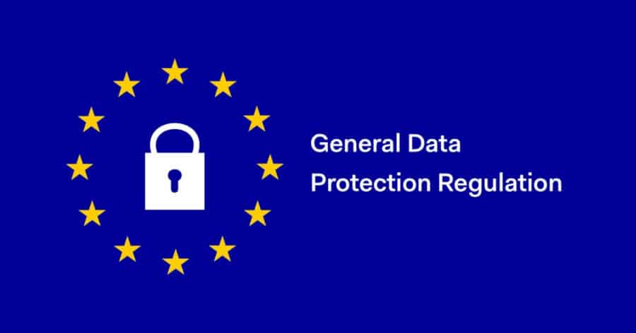 GDPR European Union flag
