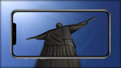 ar-media player augmented reality christ the redeemer 3D model