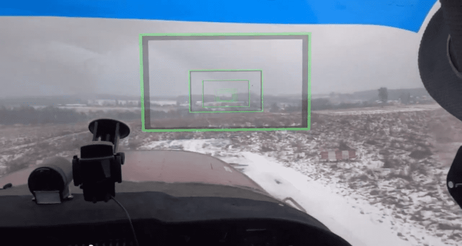 augmented reality aircraft low visibility