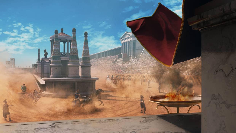Circus Maximus in Rome 3D AR VR