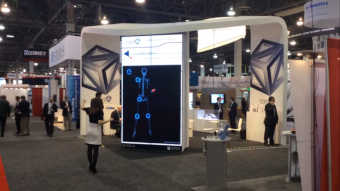 tecres interactive mirror for medical visualization in healthcare