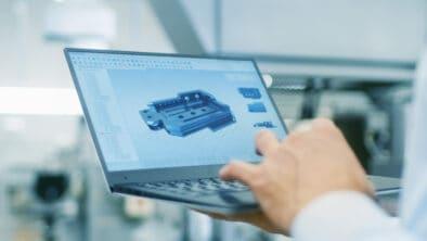 Visualizing 3D model on laptop