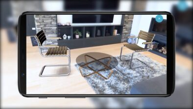 Augmented Reality Interior Design with smartphone