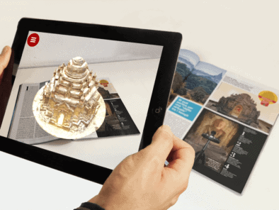 Augmented Reality app for Magazines