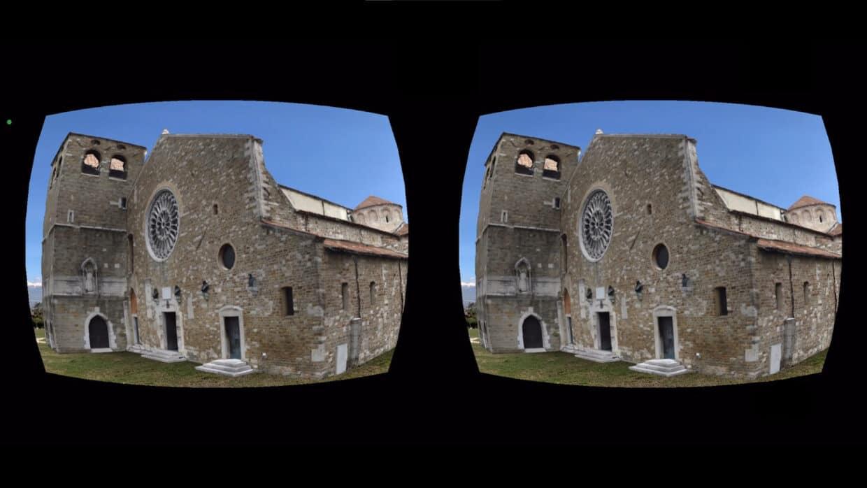 Steroscopic binocular visualization AR VR smartphone Cardboard