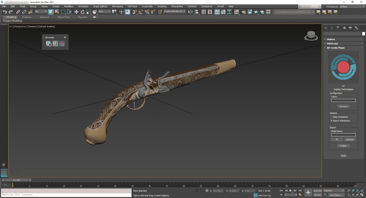 AR-media Plugin for Autodesk 3ds Max about to be released