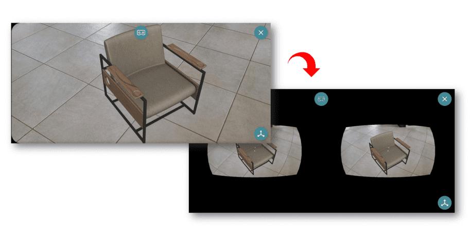 AR-media Stereoscopy Google Cardboard