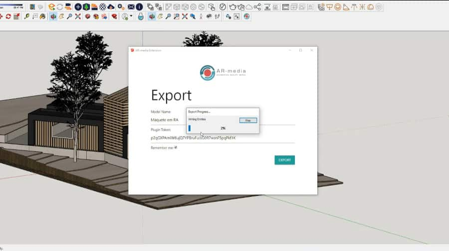 Free AR Mini-Course for Architecture in Portuguese, using AR-media